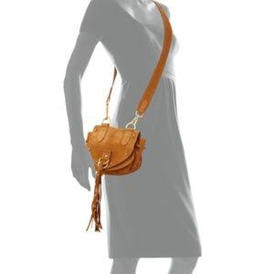 6af7546ef828 See By Chloe Bags - See by Chloe Collins Fringe Suede Saddle Bag